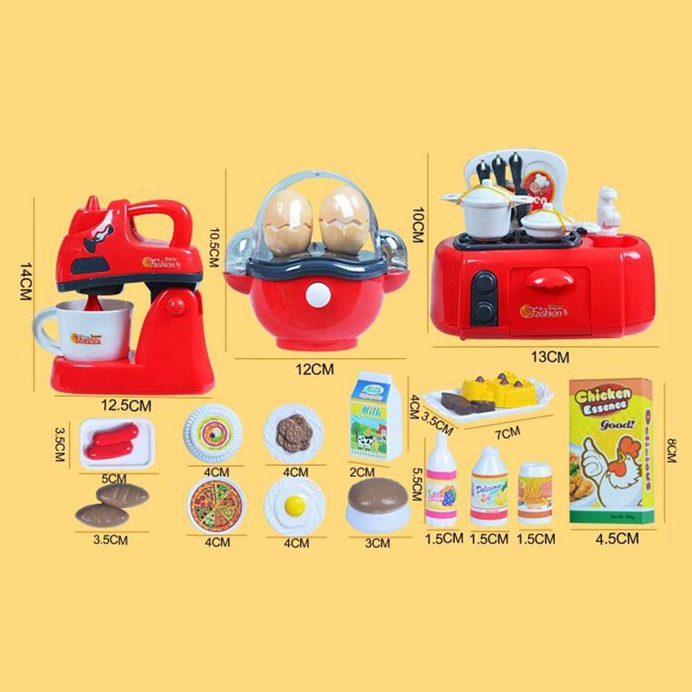 HJXJXJX Juegos de rol Juego de cocina para niños Juguete para niños , D