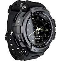 Anself LOKMAT MK28 Smart Watch 1.14inch Screen BT4.0 Life Waterproof Pedometer Calories Alarm Sports Men Smartwatch for…