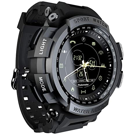 Amazon.com: CIGOO LOKMAT MK28 Smart Watch 1.14inch Screen ...