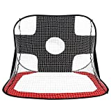 Soccer Net Gate, Foldable Portable Pop Up Children Kids Football Target Shot Net Goal Set
