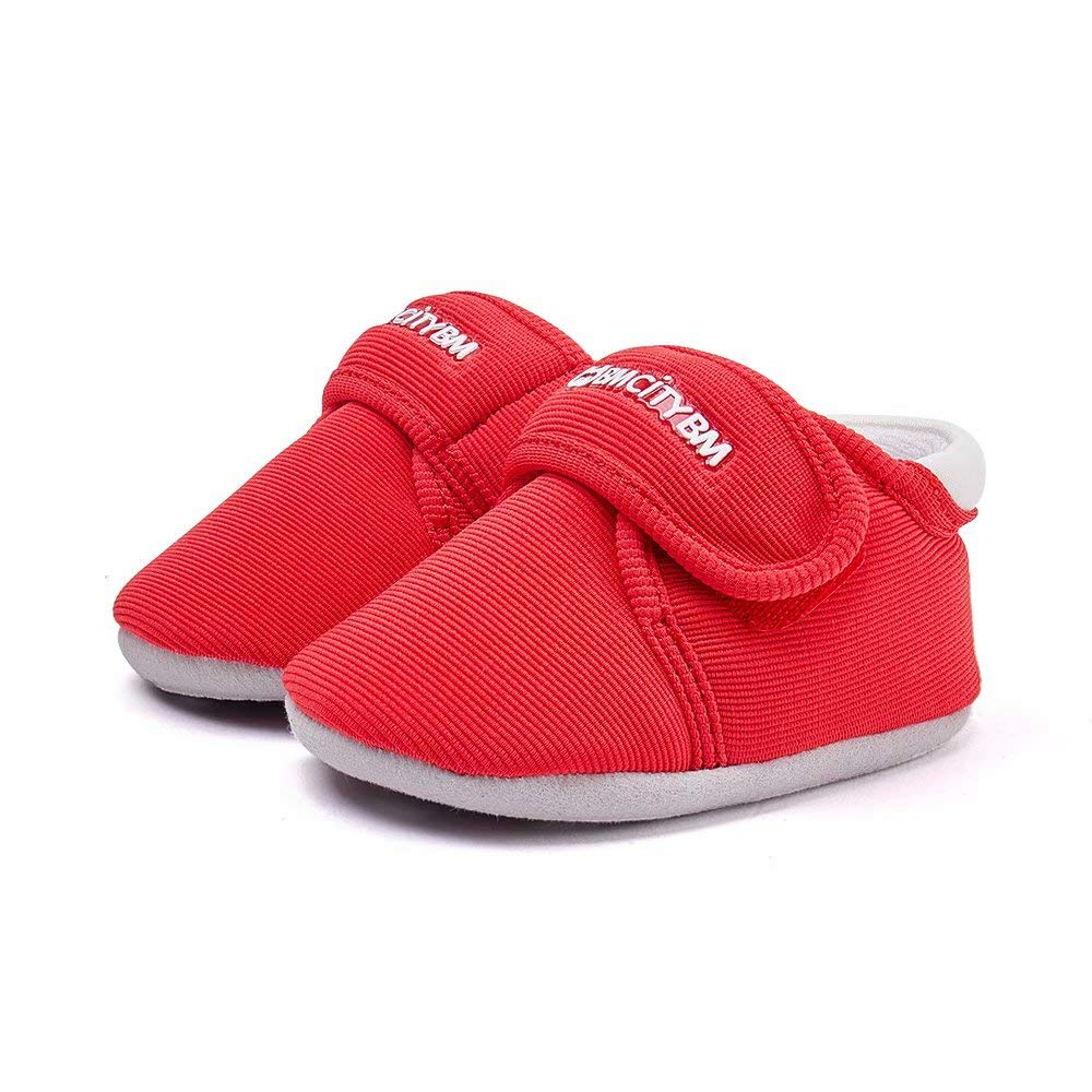 BMCiTYBM Baby Shoes for Girls Boys Kids Breathable Lightweight Walking Casual Infant Slippers