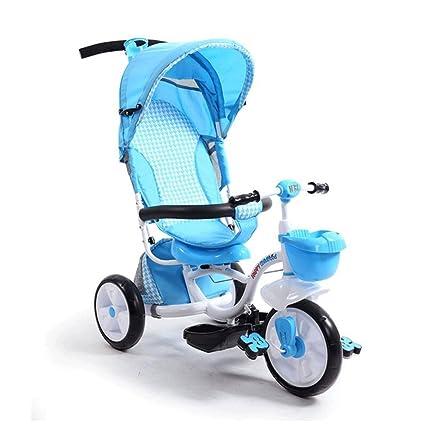 Triciclo de niños Bicicleta 1-3 2 años de edad Bicicleta de bebé Bicicleta de