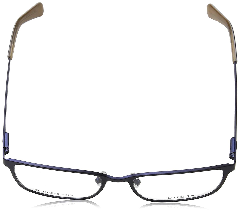 71198eedd4 Guess Op54 Gu1958Monturas De 0 AdultoAzulblu Unisex Gafas wn80ZNOPXk