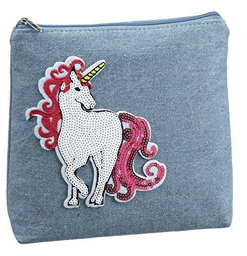 Ganz Toddler Girl Makeup Cosmetic Purse Bag - Unicorn