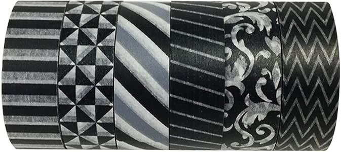 Allydrew Washi Tapes Decorative Masking Tapes ADSET42 Set of 12