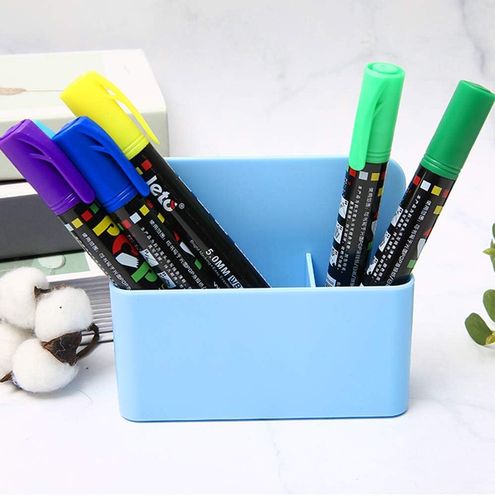 R/éfrig/érateur Gwolf Porte-marqueur magn/étique Tableau blanc marqueur et porte-gomme Porte-stylo magn/étique Porte-stylet effa/çable /à sec Plateau porte-stylo support pour bureau