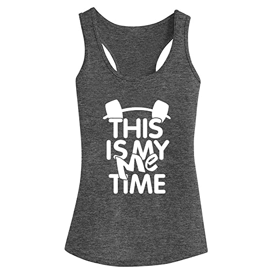 FANNOO Workout Tank Tops for Women-Womens Funny Saying Fitness Gym Racerback Sleeveless Shirts