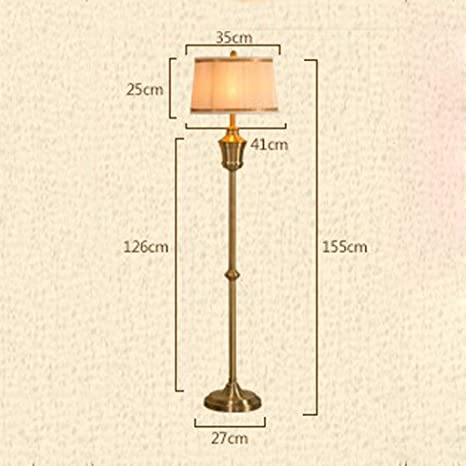 Amazon.com: SED Floor Lamp-Led Creative Retro Bronze ...