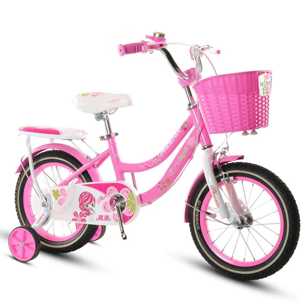 子供の自転車ベビーベビーカー2-12歳の少女サイクリングボーイ18インチキッズバイク (色 : B, サイズ さいず : 14 inches) B07D3RNKSB 14 inches|B B 14 inches
