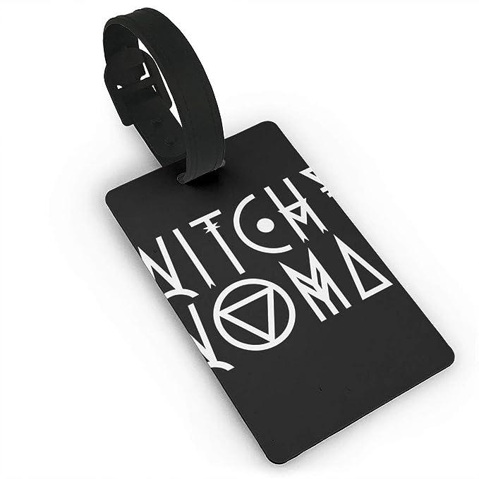 Amazon.com: Etiqueta de equipaje para mujer Witchy, etiqueta ...