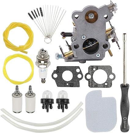 Carburetor Carb Kit For Poulan Craftsman C1M-W26C 545070601 530035590 545040701