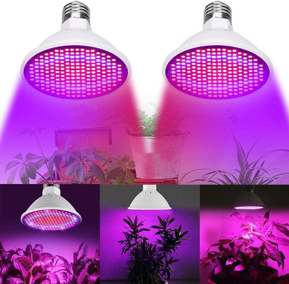 200 LED E27 Plant Grow Light lamp flower Growing Lights Bulbs Hydroponics