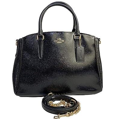91525d155bcc COACH SAGE CARRYALL BLACK  Handbags  Amazon.com