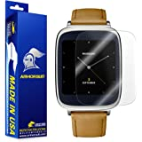 Asus ZenWatch Screen Protector [Full Coverage 2 Pack], Armorsuit MilitaryShield - Made in USA - [2-Pack] Anti-Bubble / Ultra HD Clear Shield - Lifetime Warranty
