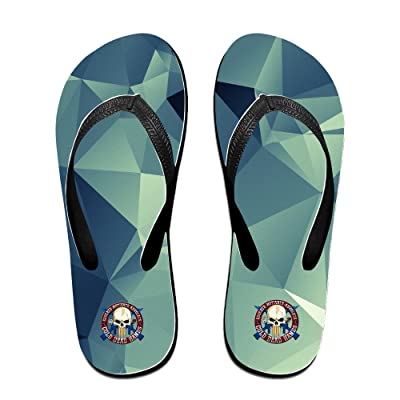 2Nd Amendment Flip Flops Walking, Outdoor Beach Slippers Mens Flip Flops