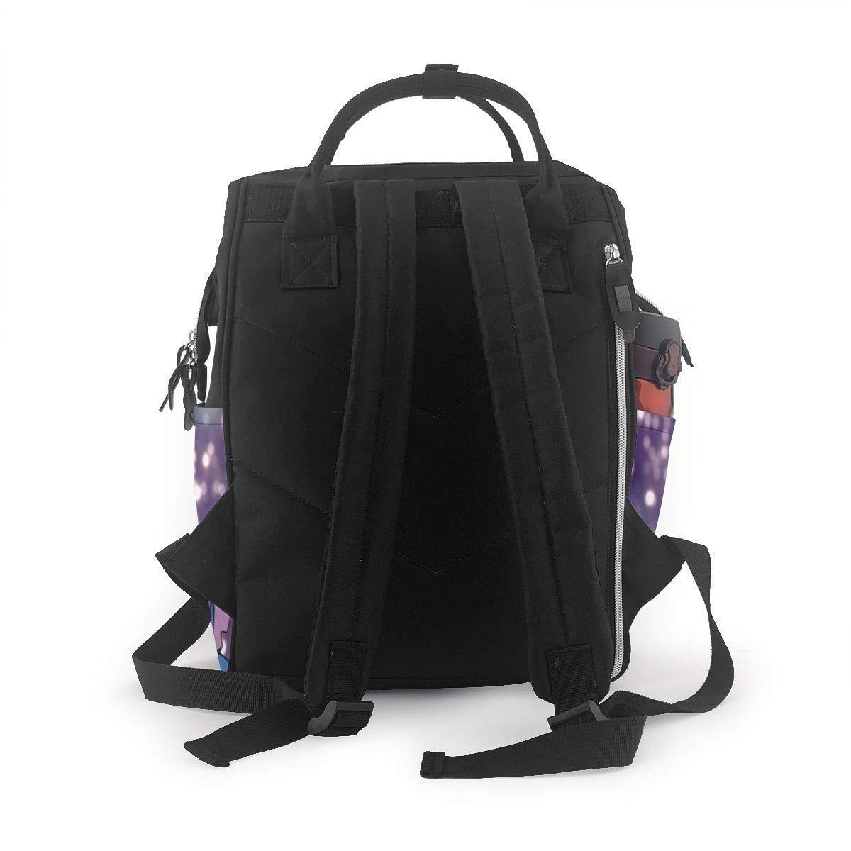 Stitch Multifunction Waterproof Travel Rucksack Maternity Baby Nappy Changing Bags NHJYU Wickeltasche Rucksack