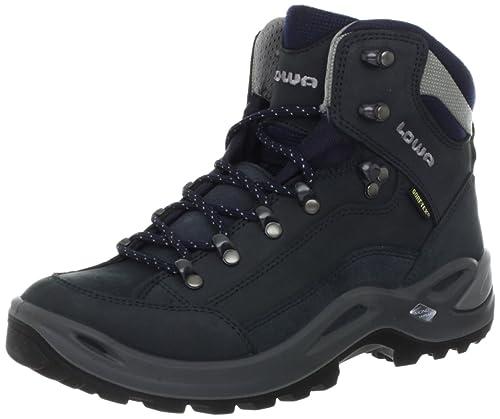 Lowa Renegade GTX Mid Ws, Women's Hiking Boots, Navy, 3.5 UK (5.5