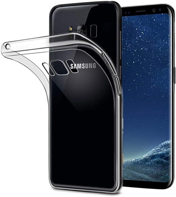 YHWW Protector de Pantalla Funda de Silicona Blanda para Samsung ...
