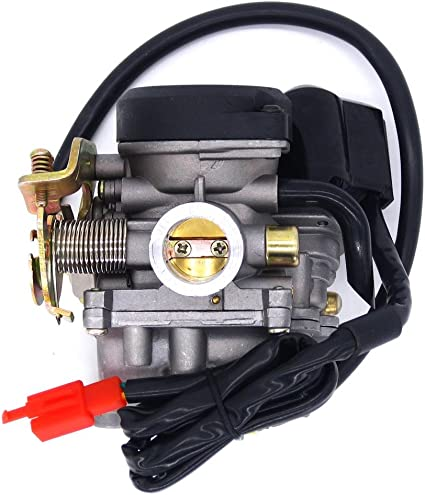 NIMTEK 50cc Scooter Carburetor GY6 Four Stroke with Jet Upgrades Scooter Moped ATV
