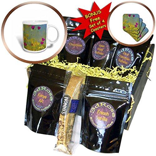 3dRose Danita Delimont - Flowers - Wine cups, Texas, USA - Coffee Gift Baskets - Coffee Gift Basket (cgb_260171_1)