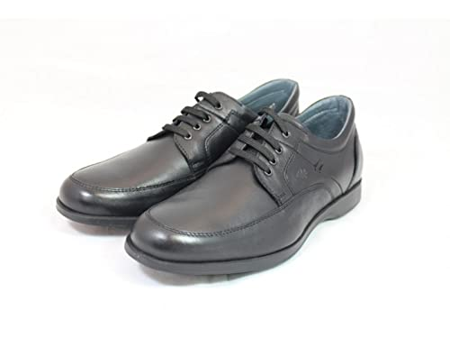 39fd0f3e93 BRAKING Scarpe Uomo Classiche Pelle Nera 6171-NERO: Amazon.it ...