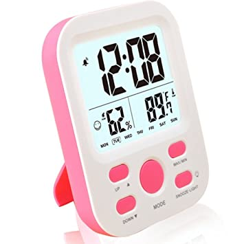 Reloj digital Famicozy con alarma reloj para niños y ...