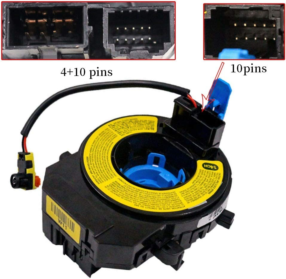 93490-1W110 New Spiral Cable Clock Spring Fits Kia Rio 4D 5D 2012-2016 Rio Rio5