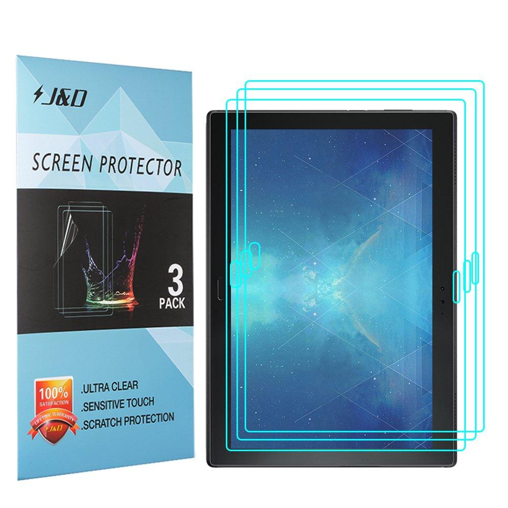 JD [3 Confezioni] Lenovo Tab 4 10 Plus Schermo Protettivo, Premium HD Chiara Pellicola Difesa Protettore per Lenovo Tab 4 10 Plus J&D Tech