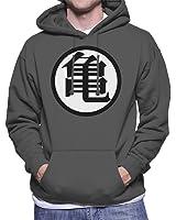 goku dragon ball z mens hooded sweatshirt