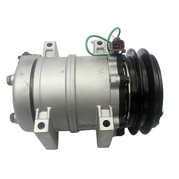 Compresor de aire acondicionado SINOCMP Excavator 4425700 - Compresor de aire acondicionado grupo refrigerante para Hitachi