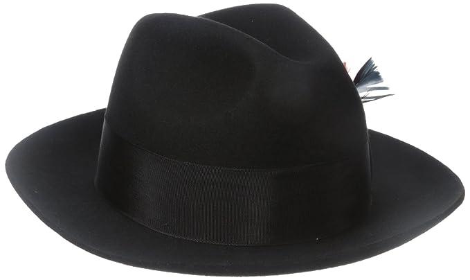 179811384de SCALA Men's Wool Felt Fedora Hat at Amazon Men's Clothing store: