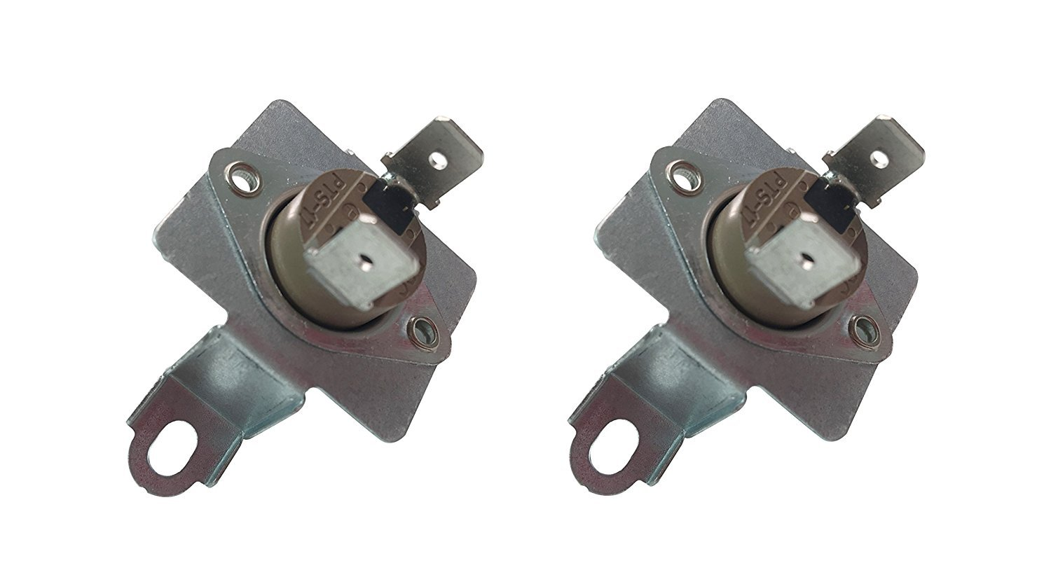 2 x SAMSUNG DC96-00887A Replacement Dryer Thermostat W/ Bracket 2074129