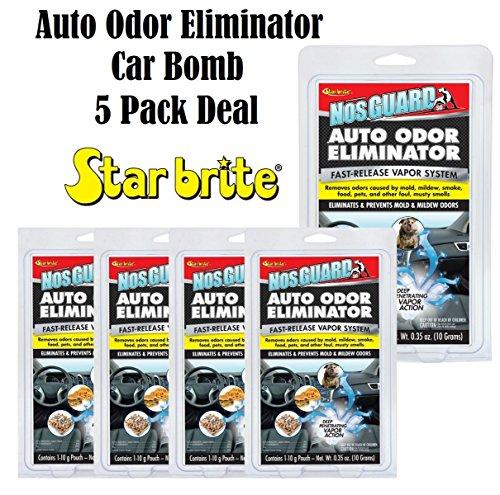 - Star Brite 19970 NosGuard SG Auto Odor Eliminator Smoke Pet & Foul Odor Control 5 Pack Deal