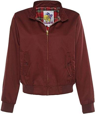 Harrington Blouson Femme: : Vêtements et accessoires
