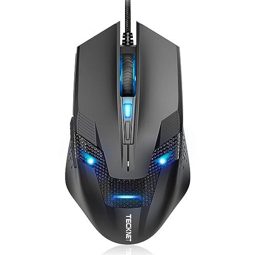 TeckNet Raptor M268 Six Button 3200DPI Gaming Mouse  Black Mice