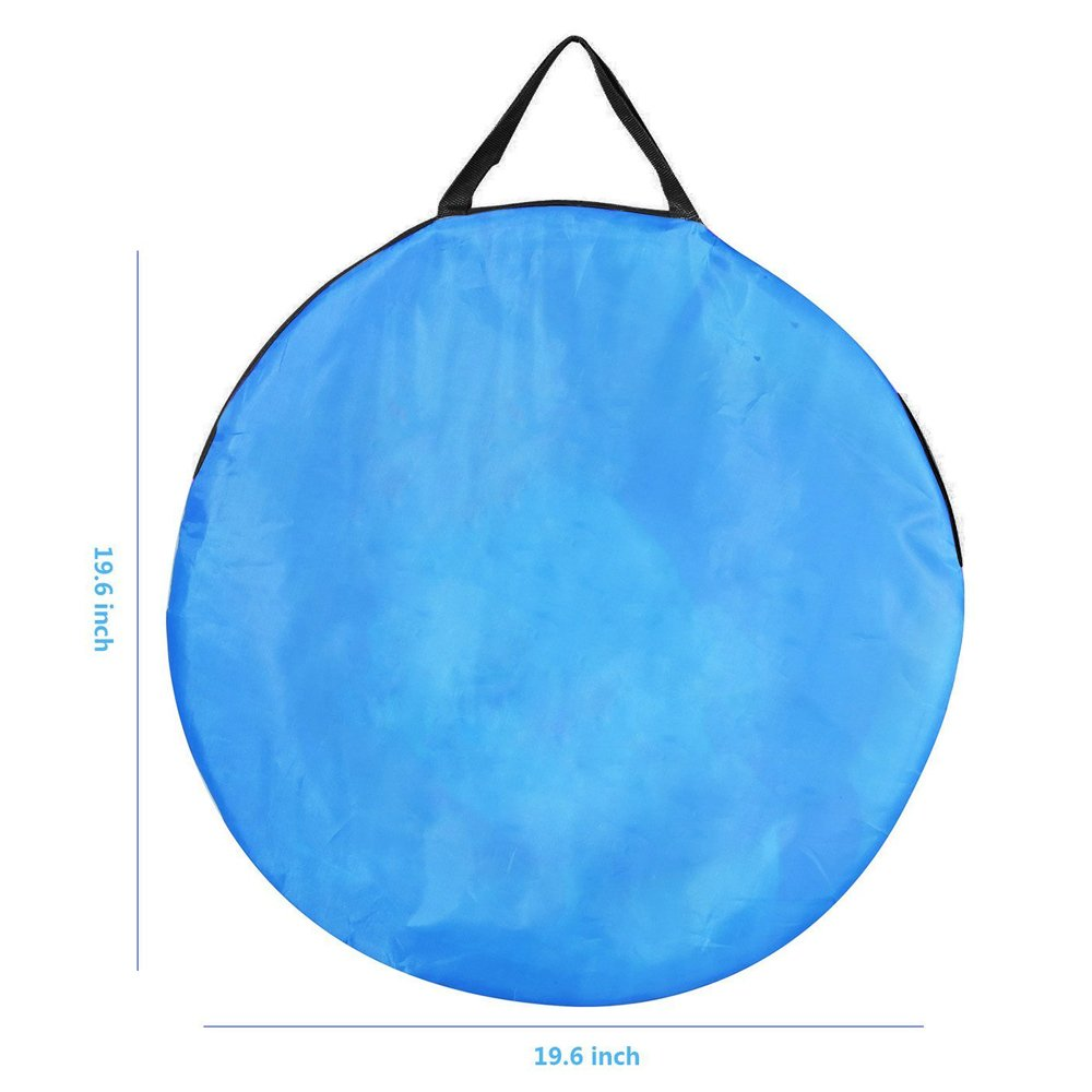 Children 3 in 1 Play Tent, Kids Playhouse & Play Tunnel & Ball Pit Full Set by Wonder Space, Indoor/Outdoor Use, Ideal Gift for Boys and Girls (Blue)