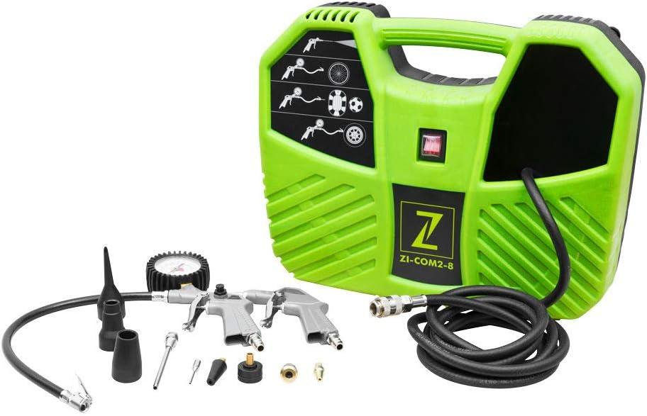 Zipper Zi Com2 8 Kompressoren 450x147x348 Baumarkt