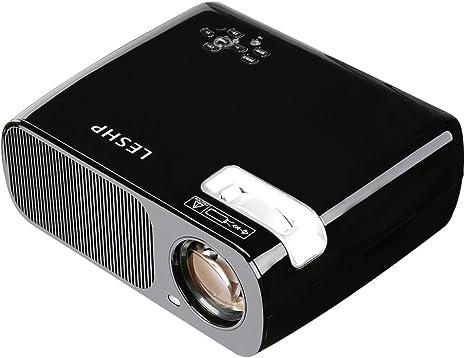 Proyector de vídeo LED - LESHP Proyector de cine en casa ...