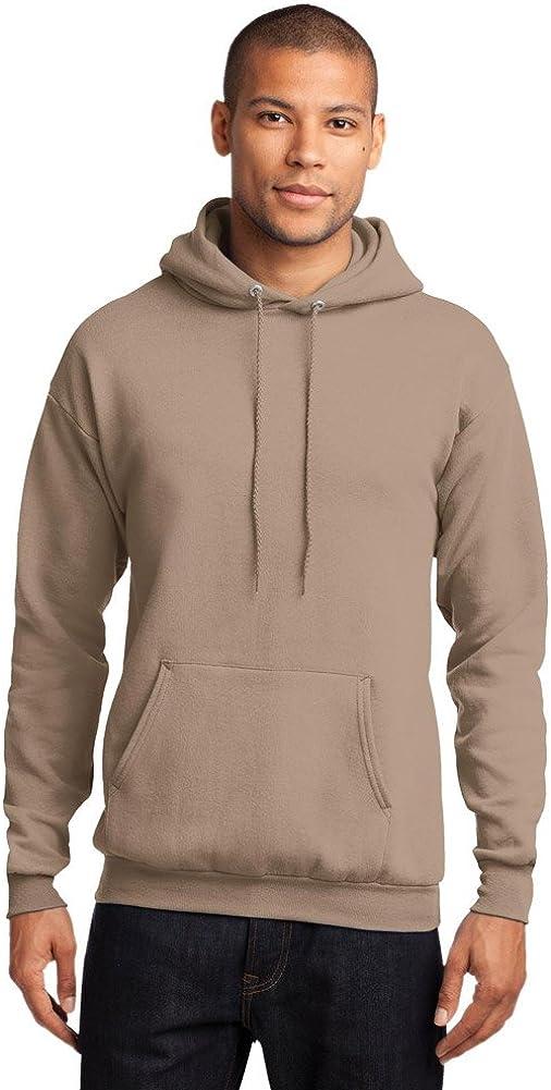 Port /& Company Mens Classic Hooded Sweatshirt