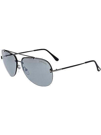 b1e1d64dbf04 Tom Ford Unisex Adults  FT0584 12C 63 Sunglasses
