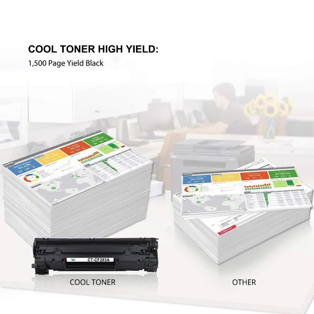 Cool Toner Compatible Cartridge Hp 83a Cf283a Mfp M127fw Laserjet M125 M127fn M225dn M201dw M125nw M225dw Pro