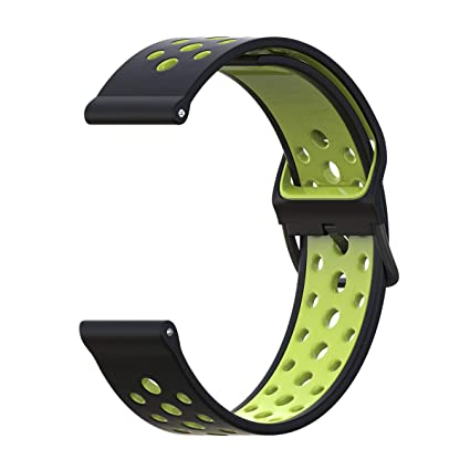 B-Great 20mm Quick Release Breathable Watch Band Replacement for Amazfit GTR 42mm, Amazfit Bip, Misfit Vapor 2, Withings Steel HR Sport Smartwatch ...