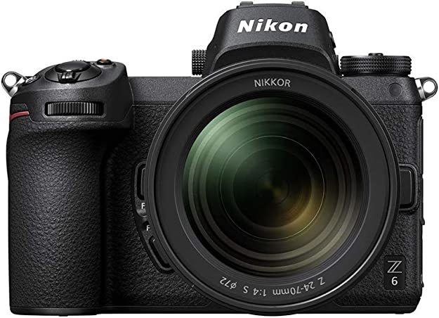 Fotocamera mirrorless nikon z6 + nikkor z 24-70 f/4 s  full frame VOA020K001
