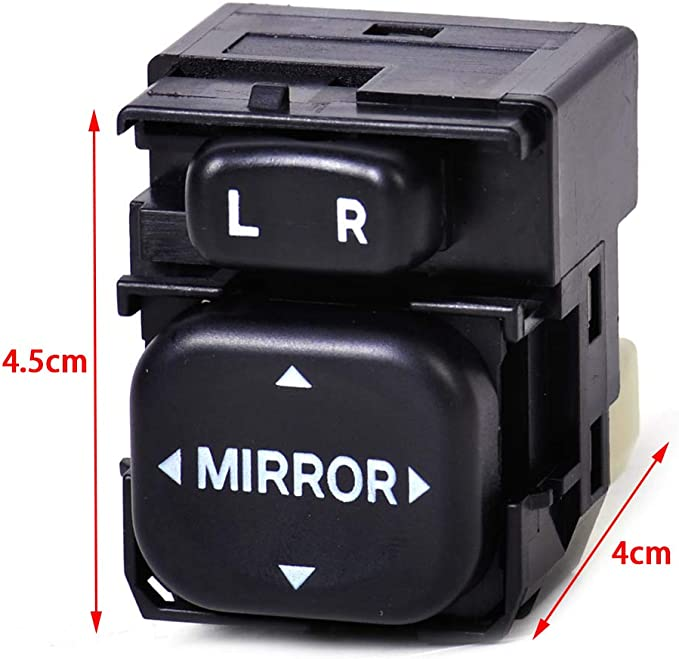 kaaka Electric Car Reverse Mirror Switch 84870-34010 for Toyota Carola RAV4 Prius Vehicle Maintenance Common Replacement Part Accessory