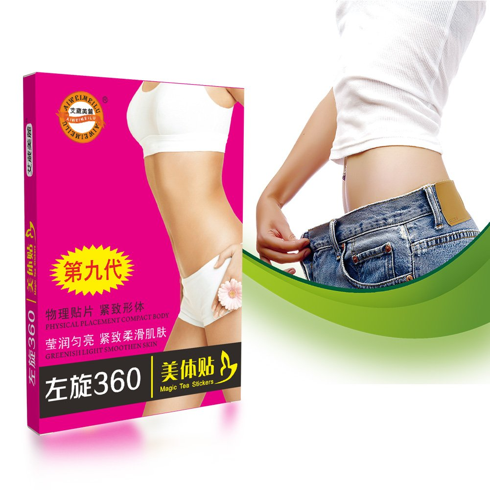 30Pcs Slimming Patch Detox, Body Slimming Patch, Fat Burning Toxin Elimination Sleeping Slim Patches Weight Loss Sticker Yotown