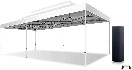 XPTENT Plegable Tienda 4 x 8 m Aluminio 50 mm Cenador Plegable de ...