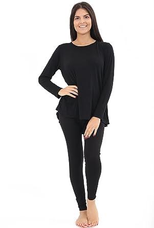 490419bc837a New Ladies Back Bow Tie Nightwear Set Women's Loungewear Tracksuit Hi Lo  Two Piece Set Jogging