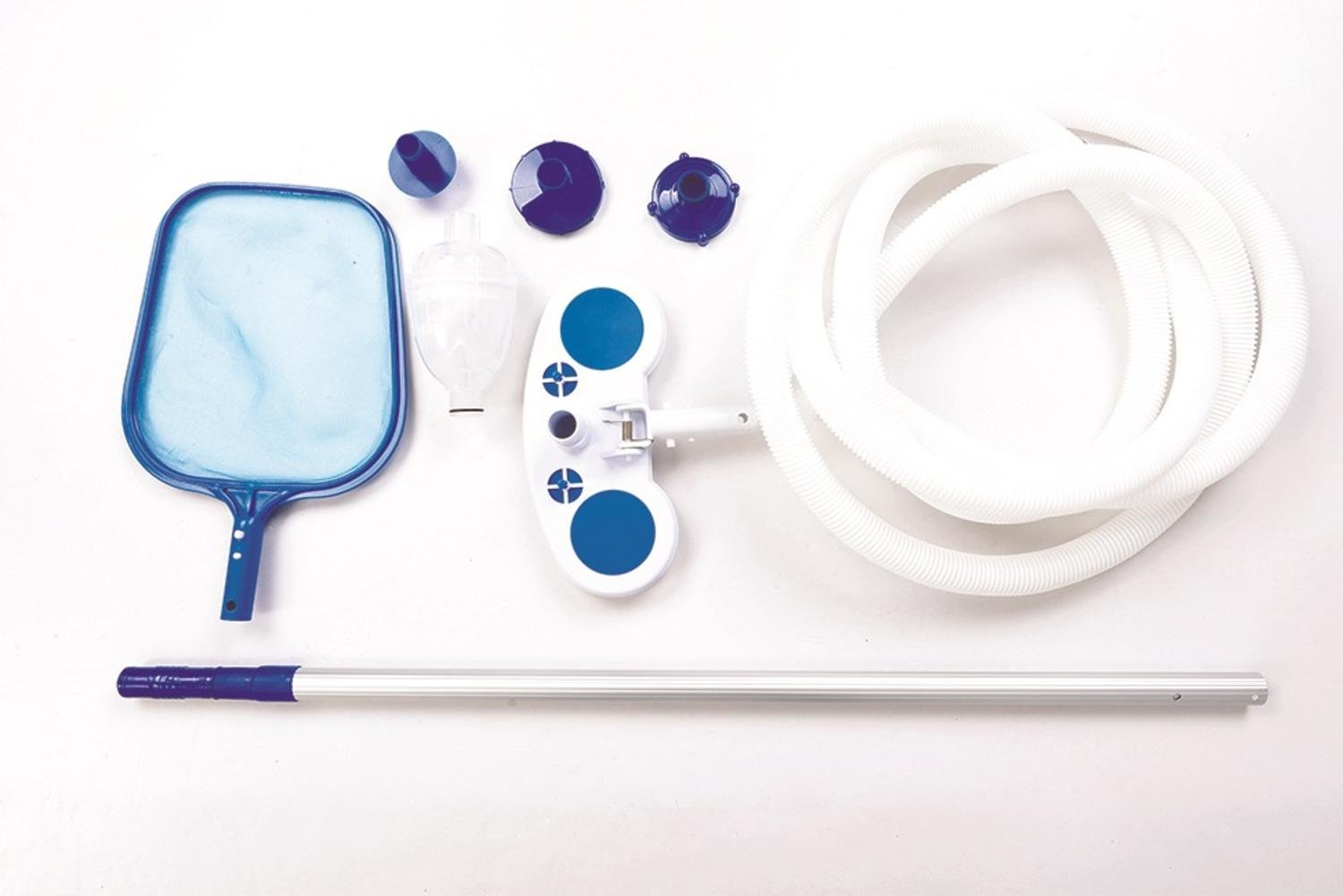 Pool Central Deluxe Swimming Pool Cleaning and Maintenance Kit