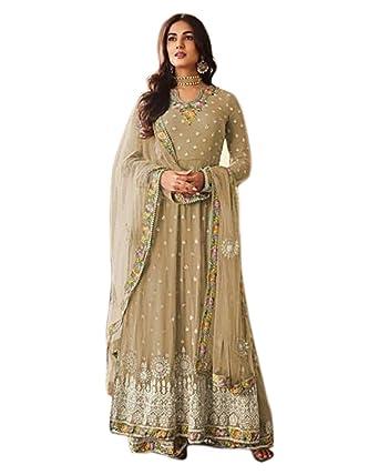 S//M//L Asian//Indian//Pakistani Designer Readymade Anarkali//Salwar Kameez Suit