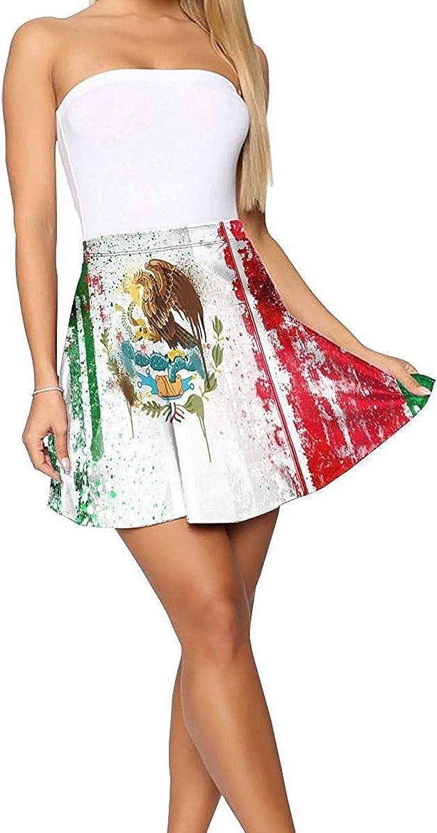 not applicable Enfriar de la Bandera Mexicana de la Falda Corta de ...